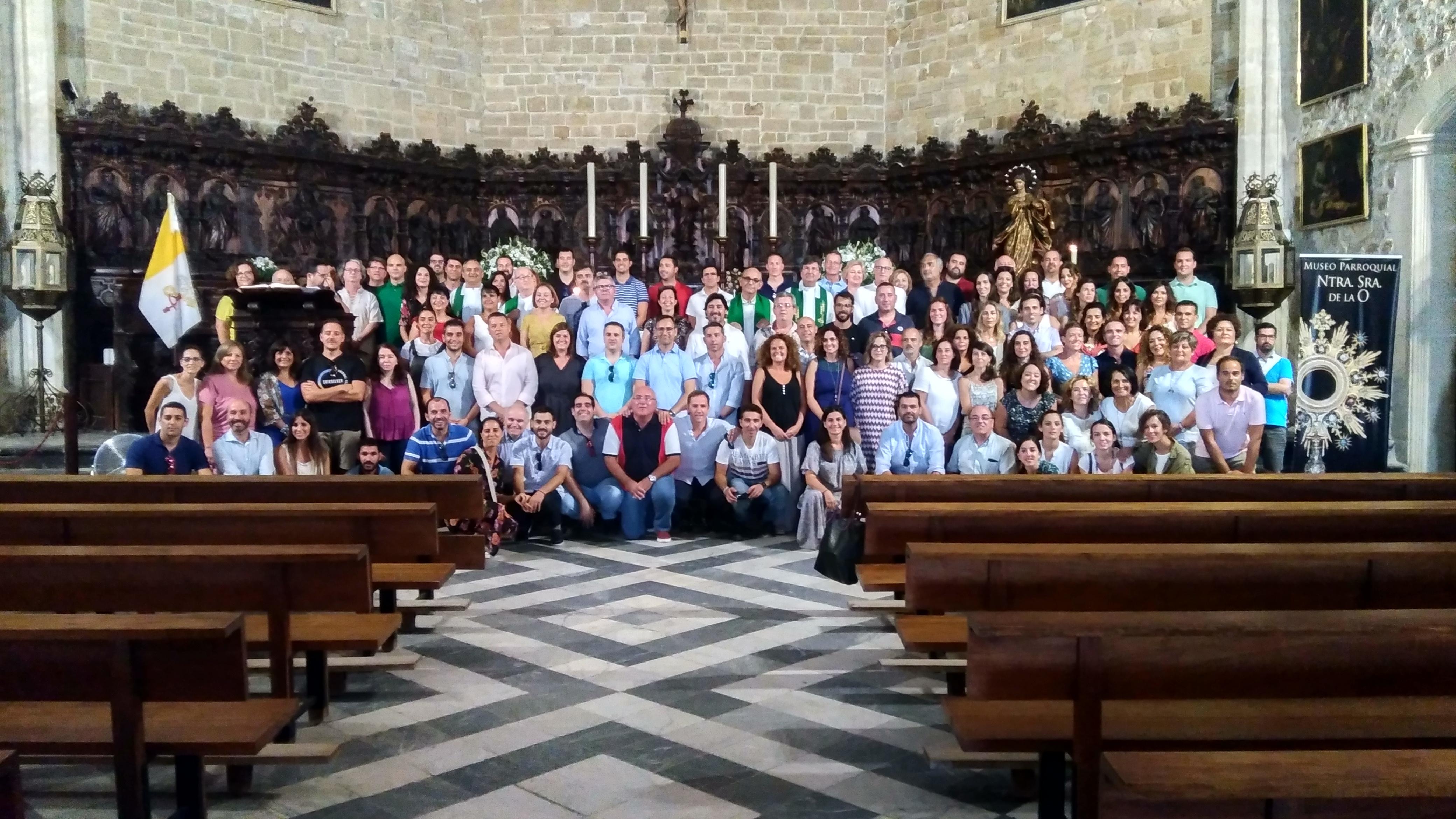 Convivencia del personal de las tres casas salesianas de Jerez (Lora-Tamayo y Oratorio) y Rota