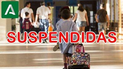 INFORMACIÓN FAMILIAS SOBRE LA SUSPENSION DE CLASES Y OTROS ACTOS